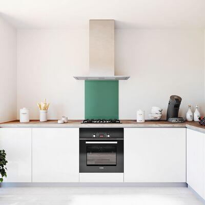 Glasplaat keuken kleur -trend-oase-mat