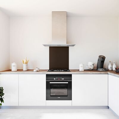 Glasplaat keuken kleur -natural-klei-hoogglans
