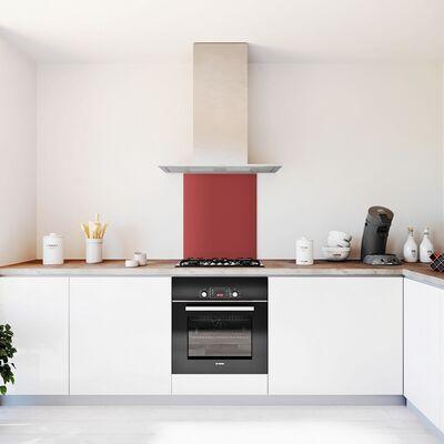 Glasplaat keuken kleur basic-rood-mat