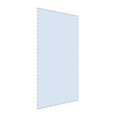 Glasplaat op maat 6mm dik glas