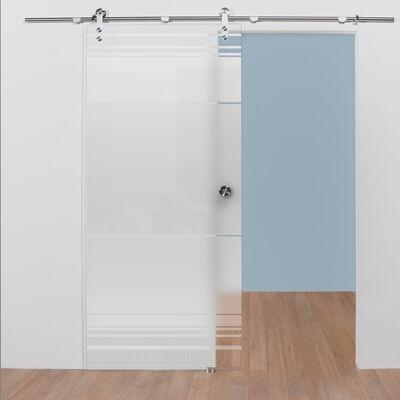 Glazen deur online kopen met patroon 2