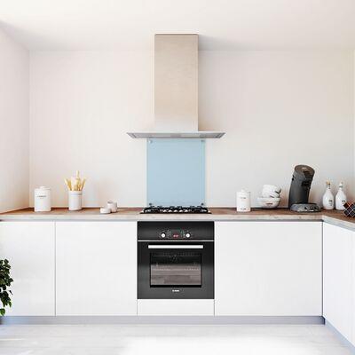glasplaat keuken transparant glas 600x700